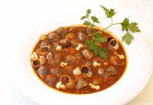 caracoles vitoria alava recetas