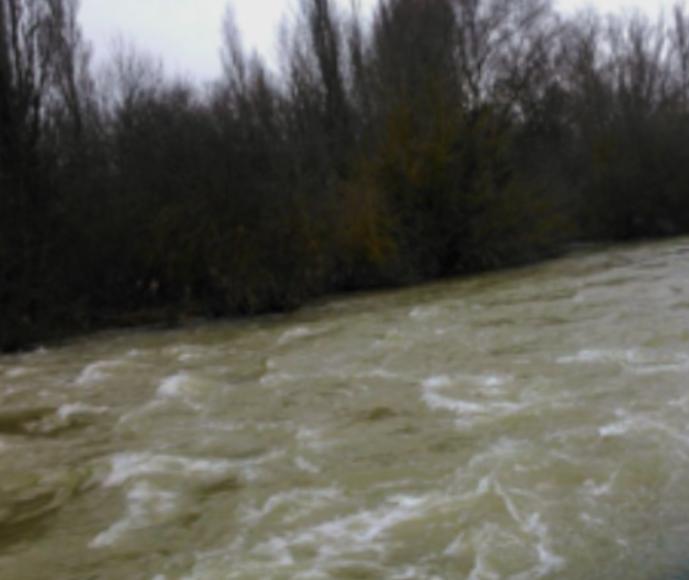 zadorra inundaciones agua