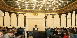 Pleno en el Ayuntamiento de Vitoria-Gasteiz