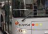 tarde urbano Autobús de Tuvisa en Vitoria-Gasteiz