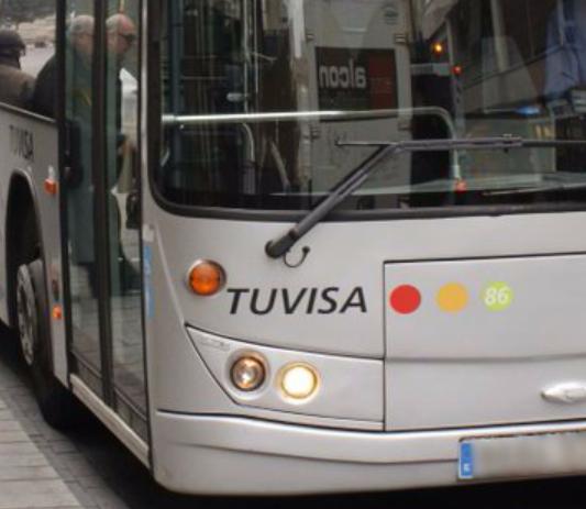 urbano Autobús de Tuvisa en Vitoria-Gasteiz