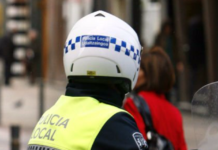 casco Policía Local de Vitoria-Gasteiz