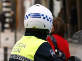 comercio casco Policía Local de Vitoria-Gasteiz