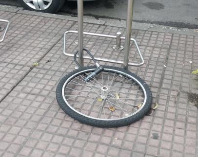 bicicletas robo