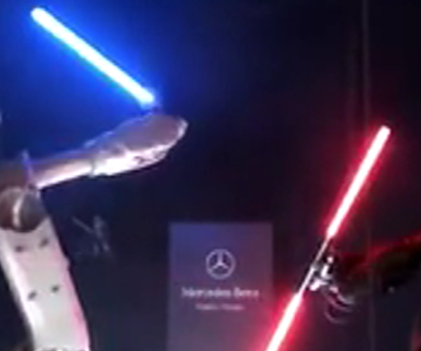 STAR WARS MERCEDES polémicas