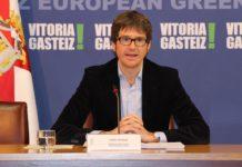 Gorka Urtaran alcalde Vitoria-Gasteiz