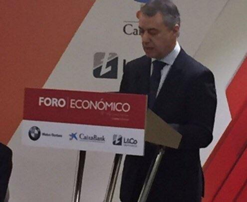 Lehendakari Iñigo Urkullu País Vasco
