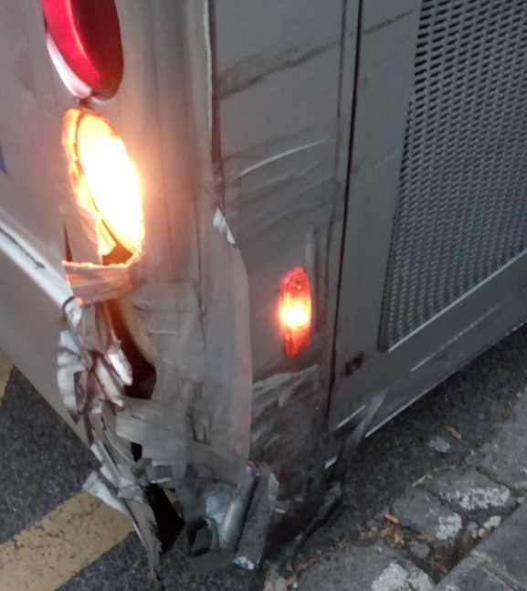 autobus roto vitoria