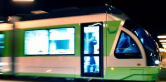 El tranvía de Vitoria-Gasteiz Euskotren
