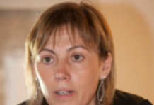 Miren Larrion portavoz de EH Bildu en Vitoria-Gasteiz