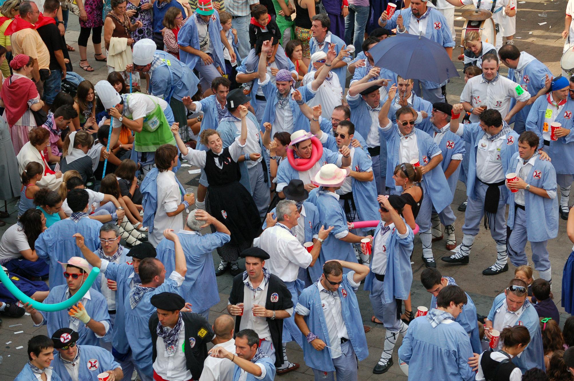 El Día Del Blusa Volverá A Ser La Mejor Fiesta 10 Razones Norte Exprés Noticias De Vitoria Gasteiz Y álava