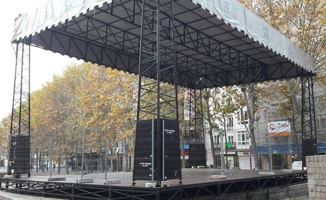 Primer gran concierto en la calle en Vitoria desde 2019