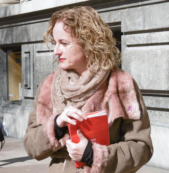 Cristina Gonzalez, secretaria general del PSE-EE en Álava