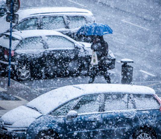 temporal de nieve en vitoria-gasteiz