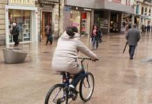 hostilidad bicis Comercios centro Vitoria-Gasteiz
