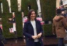 Leticia Comerón, portavoz del PP en el Ayuntamiento de Vitoria