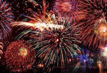 Cohetes y petardos en nochevieja Vitoria-Gasteiz