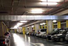 Parking Iradier Arena. Plaza de toros de Vitoria-Gasteiz