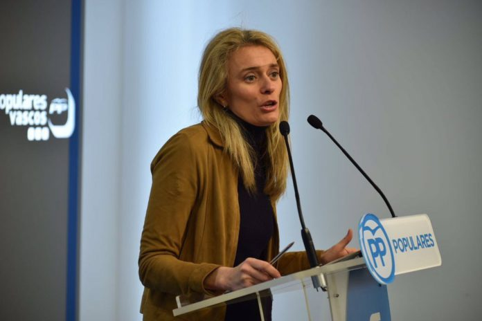 Ana Morales, portavoz del PP en las Juntas Generales de Álava