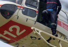 helicóptero rescate