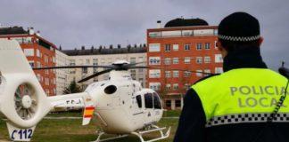 policia helicoptero segura