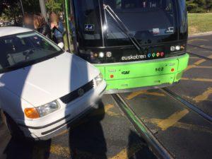 Accidente del tranvía Vitoria-Gasteiz
