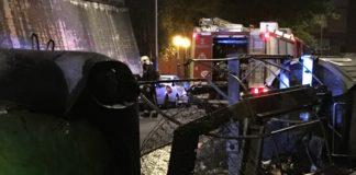 Cada vez hay más incendios en contenedores de Vitoria
