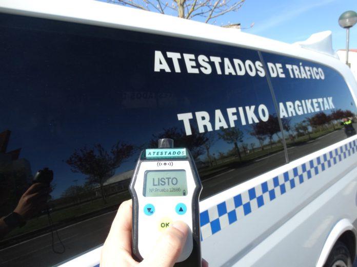 policia alcoholemia efectos alcohol