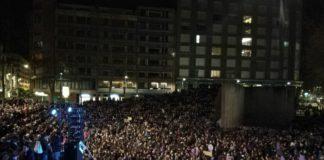 manifestación mujeres exito