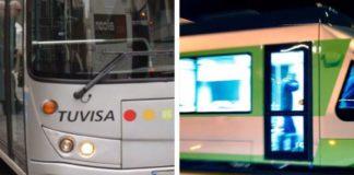 bus tranvía