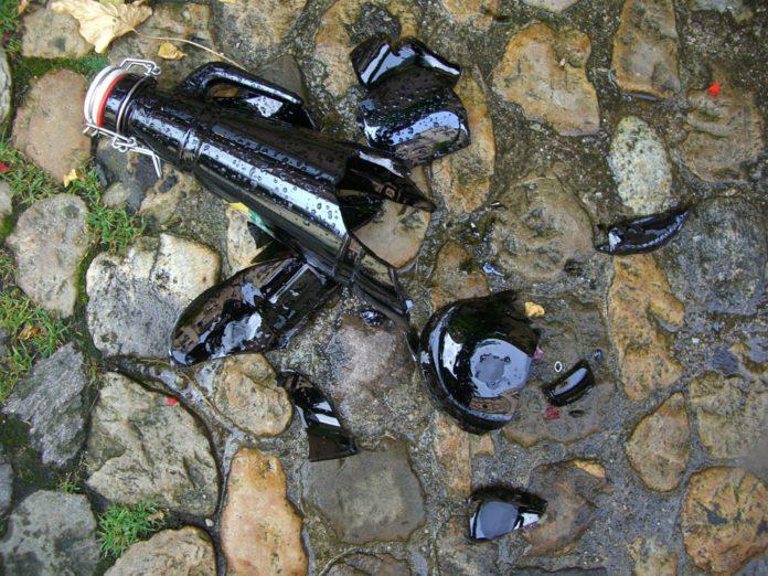 botella rota