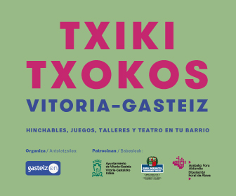 Gasteiz on – Julio 18