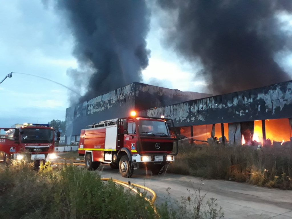 incendio quesería alava