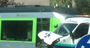 colisión tranvía