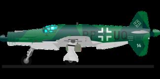 avión nazi