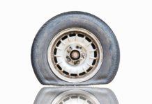 ruedas pinchadas