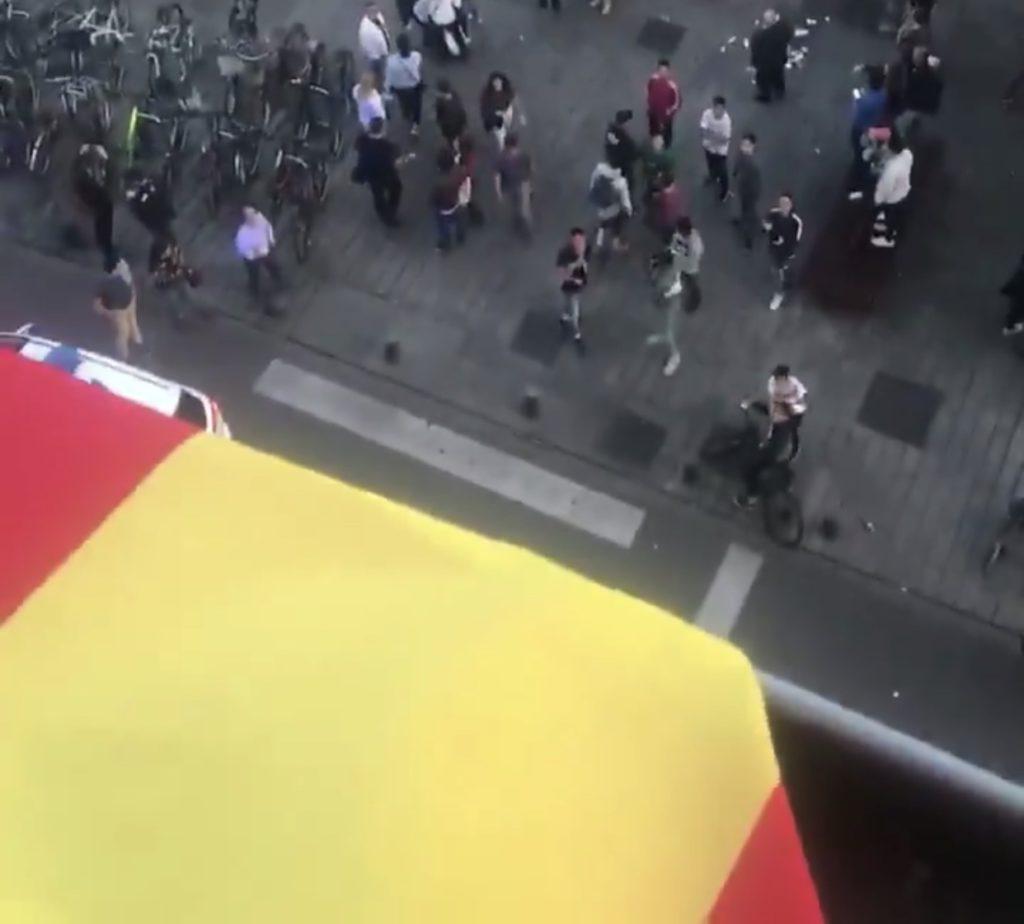 bandera españa timbrazos