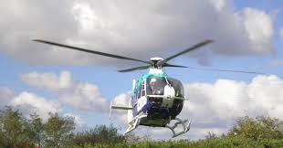 helicóptero medicalizado etraintza