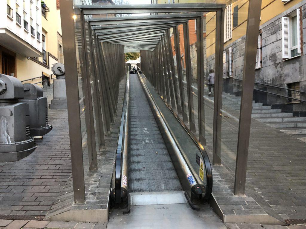 escaleras rampas