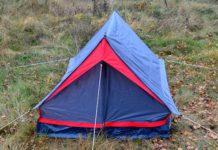 tienda campaña acampada