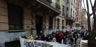 manifestación vivienda vitoria