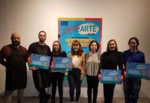 Adriana Fariñas, Alba Tojo, Ibai Cobo, June Almarza y Aroa Arrizubieta son losjóvenes artistas premiados