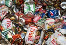 latas usadas