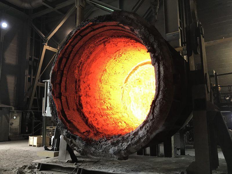 Bizkaia: La acería para obligada tras subir un 300% la luz