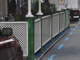 terrazas de bares en aparcamientos