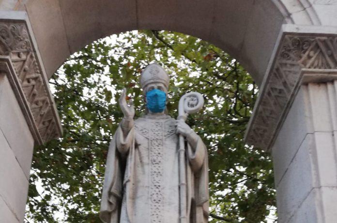esculturas mascarillas vitoria