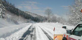 estado de las carreteras en alava por el temporal de hielo, nieve, frío y lluvia