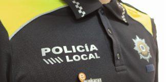 chapita euskera policia municipal vitoria