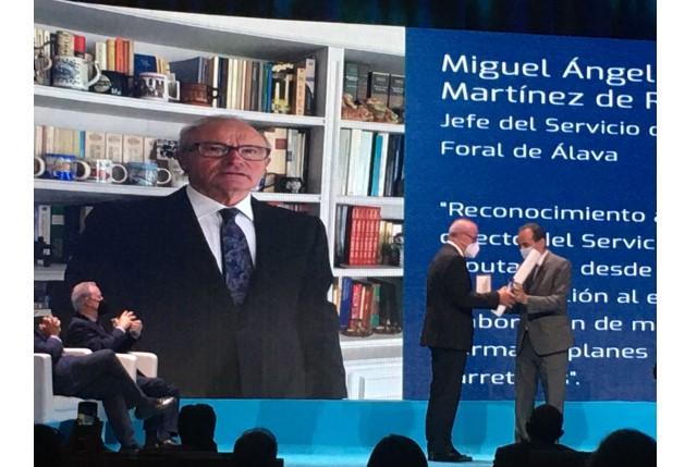 carreteras medalla oro Miguel Angel Ortiz de Landaluce