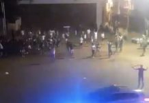 Así tratan decenas de jóvenes de botellón a la Policía vasca (VÍDEO)